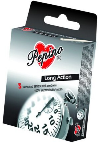 Kondom Pepino LONG ACTION