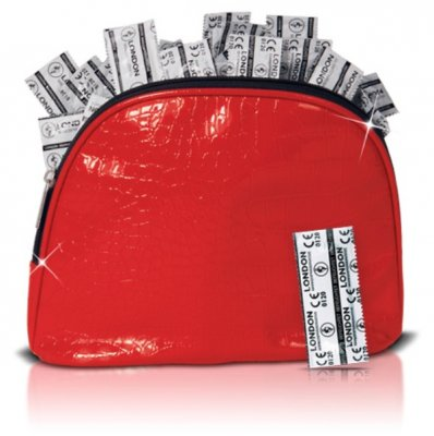 Kondom London IN RED BAG sada 100 ks