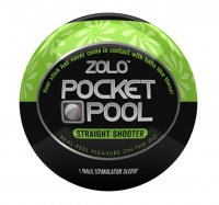 Masturbátor ZOLO POCKET POOL STRAIT SHOOTER
