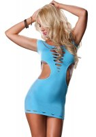 Šaty Mini Dress NEON blue