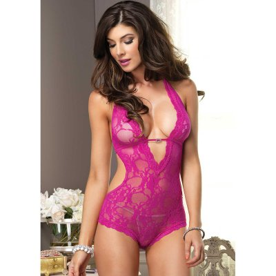 Body Halter TEDDY pink