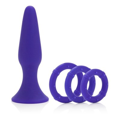 Kolík anální POSH Silicone Performance Kits purple