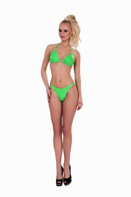 Souprava DATEX BIKINY SET green S