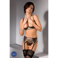 Souprava FIBI SET with open bra beige