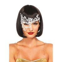 Maska DARING VENETIAN EYE MASK white