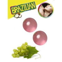 Tělový olej BRAZILIAN 2 BALLS SET grape