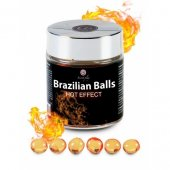 Tělový olej BRAZILIAN HOT EFFECT 6 BALLS SET