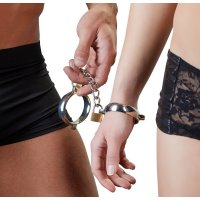 Pouta Bad Kitty METAL Handcuffs