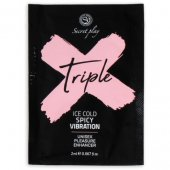 Gel SECRET PLAY TRIPLE X MONODOSE 2 ml