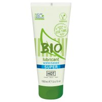 Lubrikační gel HOT BIO waterbased Super 100 ml