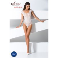 Catsuit PASSION BS064 bílý S-L