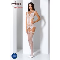 Catsuit PASSION BS066 bílý S-L