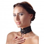 Obojek krajkový Cottelli Collection CHOKER LACE black