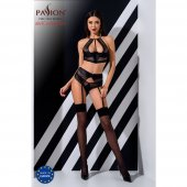 Souprava Passion SCARLET SET black
