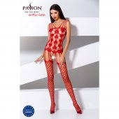 Catsuit Passion BS067 red