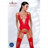 Korzet PASSION MIRAJANE CORSET red